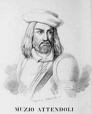 Muzio Sforza - Muzio Attendolo.