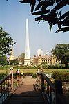Myanmar-Yangon-Independence Monument in Mahabandoola park