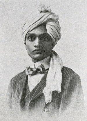 N. S. Hardikar - Photo of Hardikar from the November 1915 issue of The Hindusthanee Student.