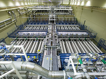 English: Laser Bay 2, one of NIF's two laser bays
