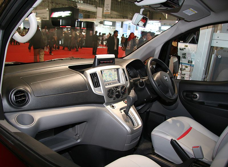 File nissan nv200 vanette taxi wikimedia for Nissan nv200 interior