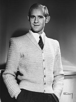 Cardigan (sweater) - Cardigan in fashion photo from 1947