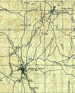 Silver City, Pinos Altos and Mogollon Railroad
