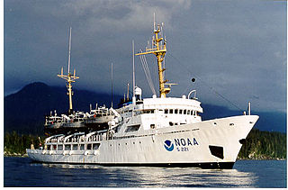 NOAAS <i>Rainier</i> Survey ship owned by the U. S. goverment