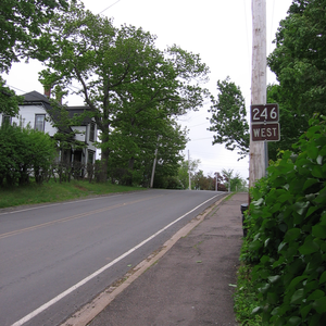 Nova Scotia Route 246 - NS Route 246 in Tatamagouche, Nova Scotia