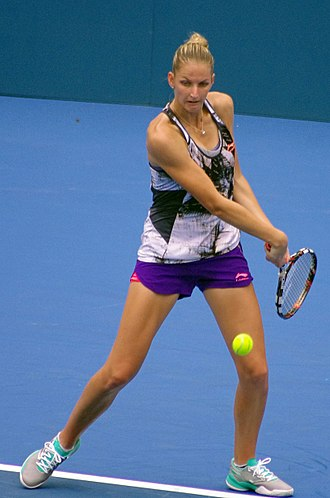 Karolína Plíšková - Plíšková at the 2015 Apia International Sydney