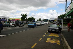 SH2 through the centre of Katikati