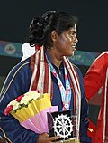 Nadeesha Of Srilanka With Silver (cropped).jpg