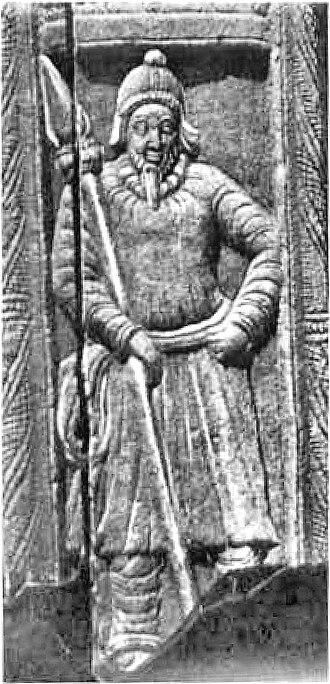 "Andhra Ikshvaku - ""Scythian"" soldier, Nagarjunakonda Palace site."