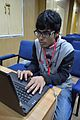 Nahid Sultan - Photo-evaluation - Bengali Wikipedia 10th Anniversary Celebration - Jadavpur University - Kolkata 2015-01-10 3199.JPG