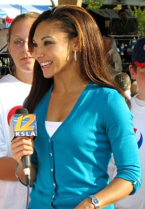 American television news anchor and reporter N...