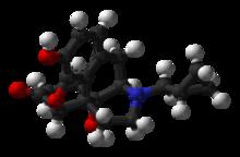 Химически отличается от налоксона наличием в молекуле вместо аллильной группы циклического (метилциклопропильного)...