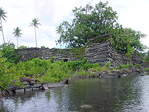 English: The ruins of Nan Madol in Pohnpei