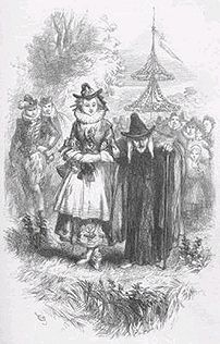 An illustration of Ann Redferne and Chattox, t...