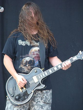 Mitch Harris in 2009 Napalm Death 08.jpg