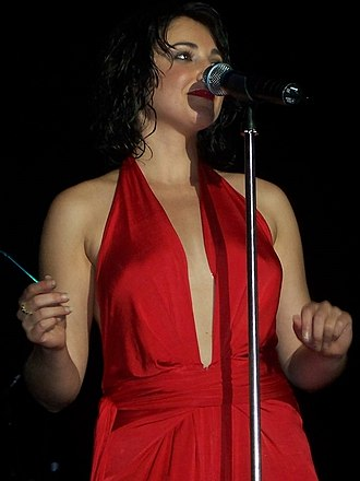 Natalie Gauci - Gauci on her Winner's Journey Tour, January 2008.