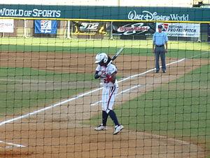 Natasha Watley - Image: Natasha Watley preparing to bat
