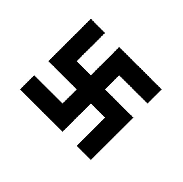 Nazi swastika clean reduce