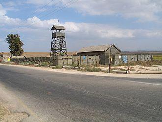 Negba - Tower and stockade model
