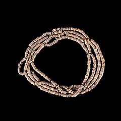 Neolithic talc necklace - PRE.2009.0.237.1.IMG 1833-black