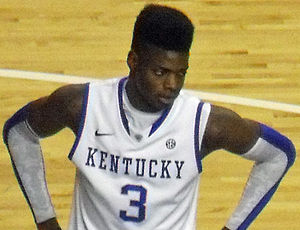 2013–14 Kentucky Wildcats men's basketball team - Nerlens Noel entered the NBA Draft