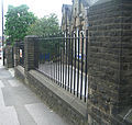 Nether Green School, Railings and Piers.jpg