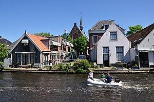 Leiderdorp - Image: Netherlands, Zuid Holland, Leiderdorp, Oude Rijn (2)