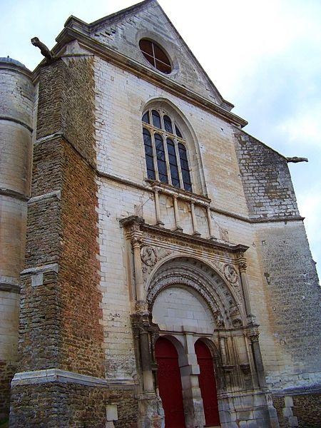 Église Saint-Symphorien de Neuvy-Sautour, façade méridionale