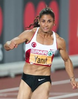 Nevin Yanıt Baltacı - Yanıt at the 2012 European Athletics Championships