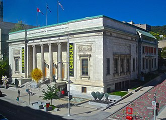1972 Montreal Museum of Fine Arts robbery - Image: New Art Gallery Building, Montreal 06