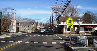 New Egypt, New Jersey - Along Main Street (CR 528)