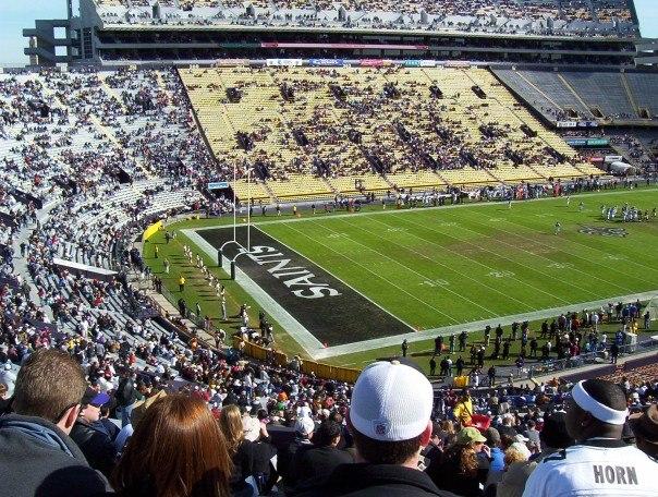New Orleans Saints at Tiger Stadium