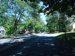 New Providence, New Jersey - A residential street