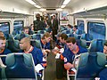 New York Islanders First Ride on LIRR (9734104912).jpg