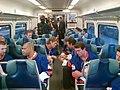 New York Islanders First Ride on LIRR (9734104912).jpg
