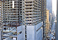 New York Marriott Marquis Under construction-June 21, 1984.jpg