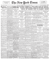 New York Times Frontpage 1914-07-29.png