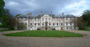 Sir David Dalrymple, 1st Baronet - Dalrymple's home at Newhailes, near Musselburgh
