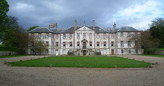 Sir David Dalrymple, 1st Baronet - Dalrymple's home at Newhailes, near Musselburgh