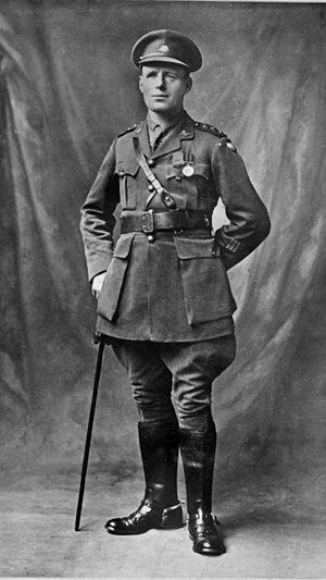 James Newland - Captain James Newland ca. 1918