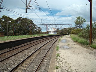Newnes Junction railway station railway station in Lithgow LGA, New South Wales, Australia