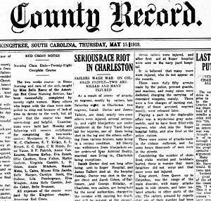 Charleston riot of 1919 - Wikipedia