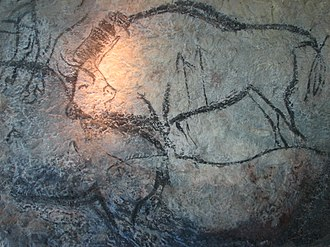 Cave of Niaux - Image: Niaux, bisons