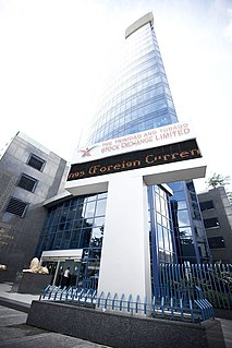Trinidad and Tobago Stock Exchange Stock exchange located in Port of Spain, Trinidad and Tobago