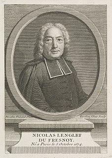 Nicolas Lenglet Du Fresnoy French translator and writer