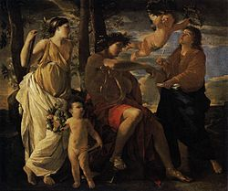 Nicolas Poussin: The Inspiration of the Poet