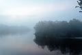 Niebla a tempranas horas de la mañana en Boca de autana.jpg