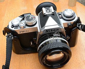 Nikon FM3A - Nikon FM3A SLR with 50mm lens