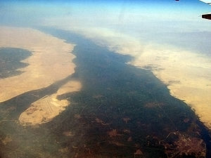 Nile - The Nile near Beni Suef