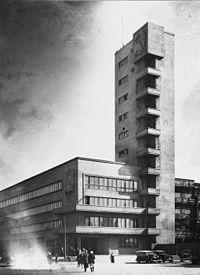 Architecture constructiviste wikip dia for Architecture urss